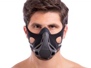 Маска тренировочная Training Mask PHANTOM (S-L-100-300LBS (от 45-136кг), черный) - L-250-300LBS (113-136кг)