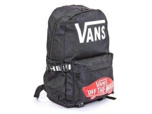 Рюкзак городской VANS (PL, р-р 44x28x12см, цвета в ассортименте) - Цвет Черный