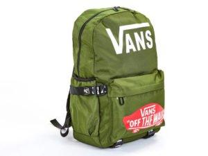 Рюкзак городской VANS (PL, р-р 44x28x12см, цвета в ассортименте) - Цвет Оливковый