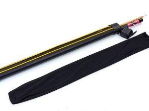 Футляр для кия-тубус Пантера 2В-2S (р-р 80x7x4см, PVC, полиэстер, черный)