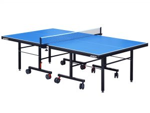 Стол теннисный GSI-Sport (G-profi) (складной,ДСП толщина 25мм, металл,  размер 2,74х1,52х0,76м, вес 105кг, синий)