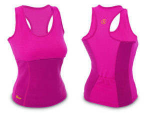 Майка для фитнеса (похудения) HOT SHAPERS малиновый (р-р RUS-42-48, неопрен, сетка) - L