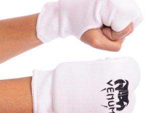 Накладки (перчатки) для каратэ VNM (PL, хлопок, эластан, р-р XS-L, белый) - XS