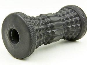 Роллер массажный для рук и ног (EVA, р-р 15,5х7,5см, черный)