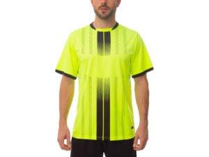 Футбольная форма (PL, р-р M-3XL, рост 165-185, салатовый, шорты черные) - M, рост 165