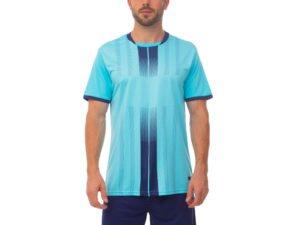 Футбольная форма (PL, р-р M-3XL, рост 165-185, голубой, шорты синие) - M, рост 165