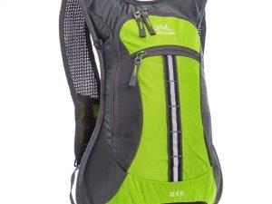 Рюкзак спортивный с жесткой спинкой (нейлон, р-р 31х8х43см, цвета в ассортимете) - Цвет Зеленый