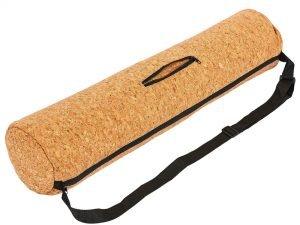 Чехол для йога коврика Yoga bag Пробковый SP-Planeta (размер 13смх65см, пробковое дерево, полиэстер)
