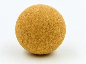 Массажер для спины пробковый SP-Planeta Ball Rad Roller (пробковое дерево, диаметр 6,5см)