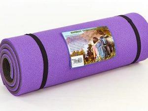 Коврик туристический (каремат) двухслойный 16мм SP-Planeta (пенополиэтилен, размер 1,8мх0,6мх1,6см,цвета в ассортименте)
