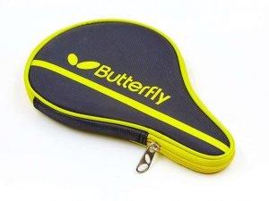 Чехол на ракетку для настольного тенниса BUTTERFLY NAKAMA (PL, черно-желтый, р-р 30х3х19см)