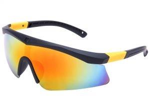 Велоочки солнцезащитные (пластик, акрил, цвета в ассортименте) - Цвет Желтый