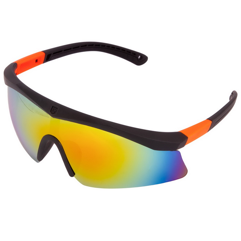Велоочки солнцезащитные (пластик, акрил, цвета в ассортименте)