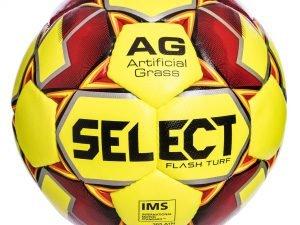 Мяч футбольный №5 SELECT FLASH TURF IMS (FPUS 1500, желтый-красный)